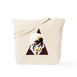 Skull Triangle Tote Bag