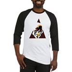 Skull Triangle Baseball Jersey