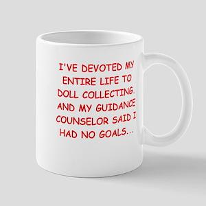 doll collecting Mug