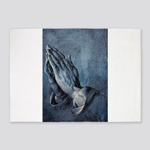 Praying Hands 5'x7'Area Rug