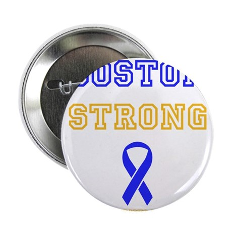 "Boston Strong Ribbon Design 2.25"" Button (10 pack)"