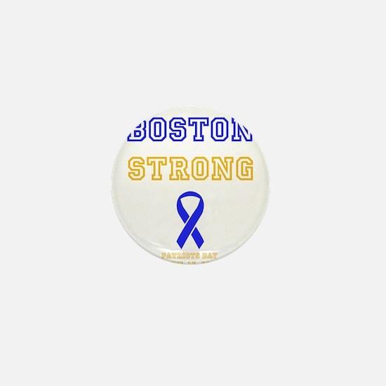Boston Strong Ribbon Design Mini Button