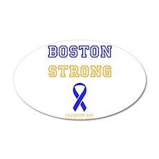 Boston Strong Ribbon Design Wall Decal