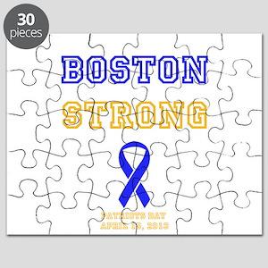 Boston Strong Ribbon Design Puzzle