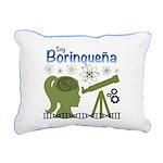Borinquena Rectangular Canvas Pillow