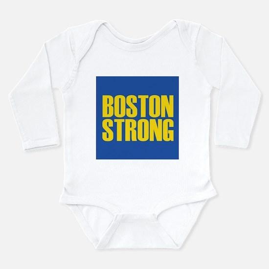Boston Strong mug Long Sleeve Infant Bodysuit