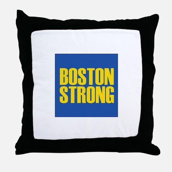 Boston Strong mug Throw Pillow