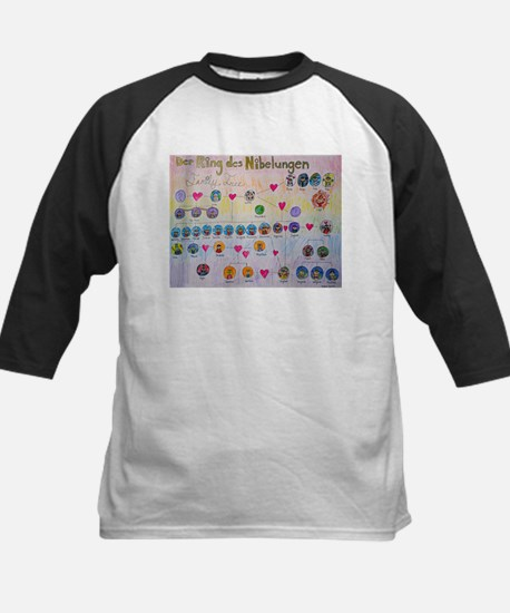 Der Ring des Nibelungen Family Tree Tee