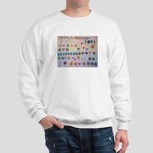 Der Ring des Nibelungen Family Tree Sweatshirt