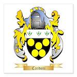 Cardoni Square Car Magnet 3