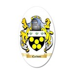 Cardoni 35x21 Oval Wall Decal