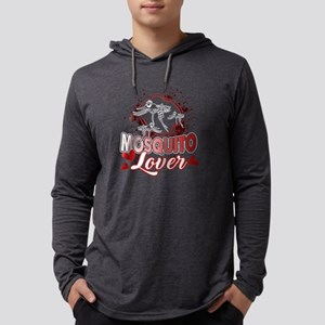 MOSQUITO LOVER T-SHIRT Mens Hooded Shirt