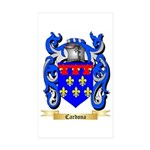 Cardona Sticker (Rectangle 50 pk)