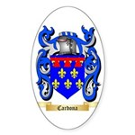 Cardona Sticker (Oval 50 pk)