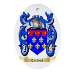 Cardona Ornament (Oval)