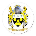 Cardo Round Car Magnet