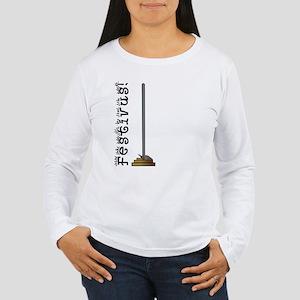 FESTIVUS™ Pole Asymmetrical Ladies Long Sleeve Tee
