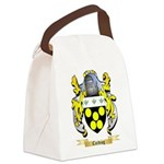 Carding Canvas Lunch Bag