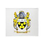 Carding Throw Blanket