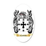 Cardillo Oval Car Magnet