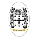 Cardillo Sticker (Oval 10 pk)