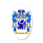 Carder 35x21 Oval Wall Decal