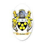 Carden Oval Car Magnet