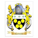 Cardante Small Poster