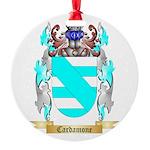 Cardamone Round Ornament