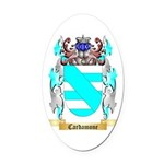 Cardamone Oval Car Magnet