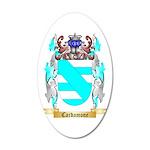 Cardamone 20x12 Oval Wall Decal