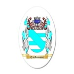 Cardamone 35x21 Oval Wall Decal