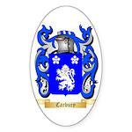Carbury Sticker (Oval 10 pk)