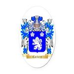 Carbrey Oval Car Magnet