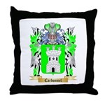 Carbonnel Throw Pillow