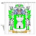 Carbonini Shower Curtain
