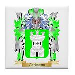 Carbonini Tile Coaster
