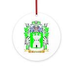 Carbonini Ornament (Round)
