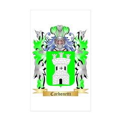 Carbonetti Sticker (Rectangle 10 pk)