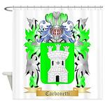 Carbonetti Shower Curtain