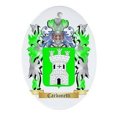 Carbonetti Ornament (Oval)