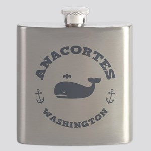 Anacortes Whaling Flask