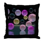 Night Jewels Throw Pillow