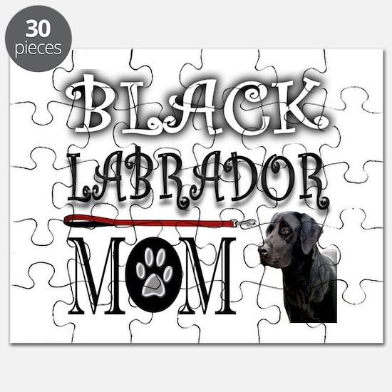BLACK LAB MOM Puzzle