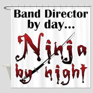 Band Director Ninja Shower Curtain