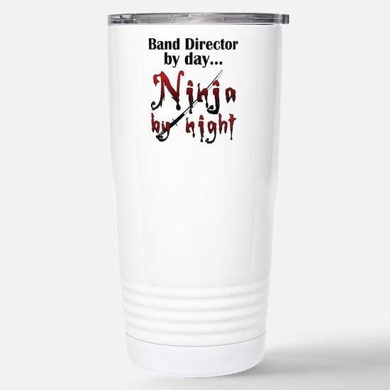 Band Director Ninja Stainless Steel Travel Mug