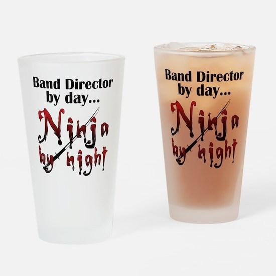 Band Director Ninja Drinking Glass