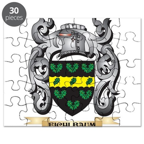 Eichlbaum Coat of Arms - Family Crest Puzzle