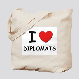 I love diplomats Tote Bag