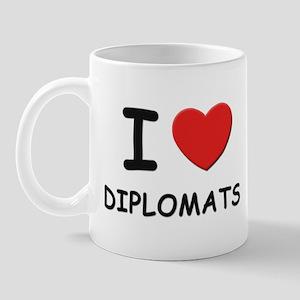 I love diplomats Mug